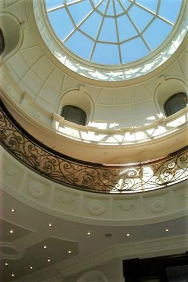 Interior skylight dome