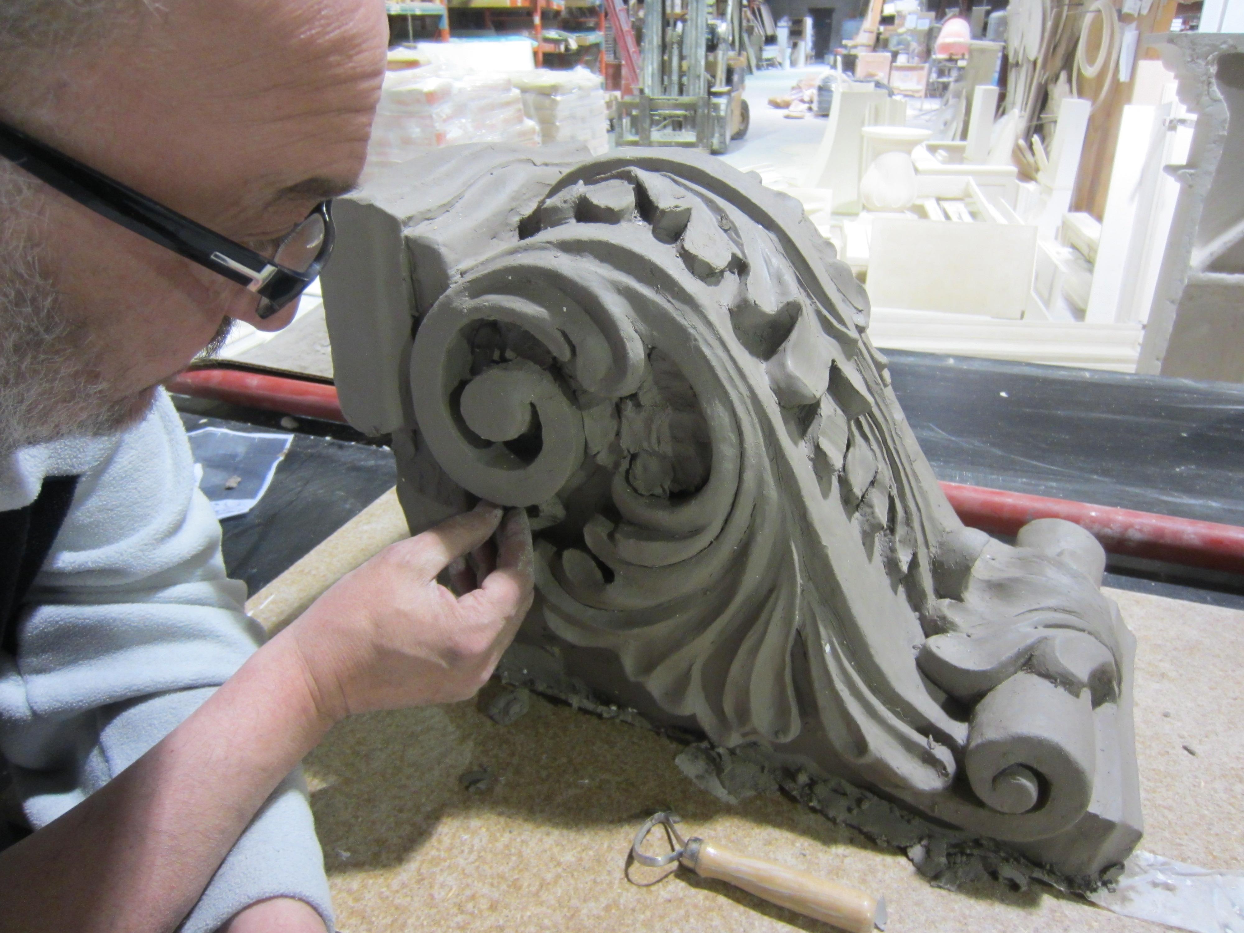 clay corbel original