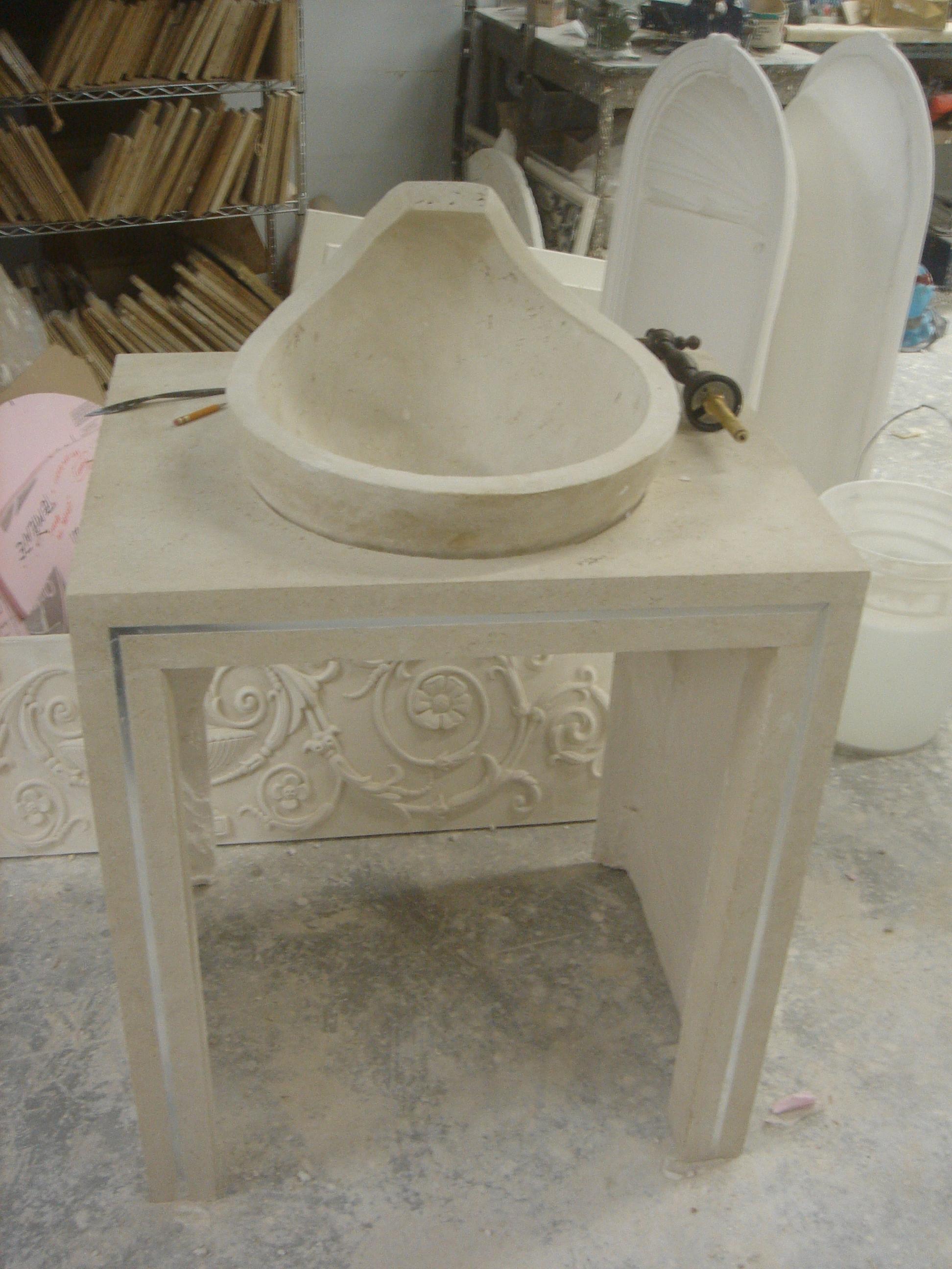 Stone vanity