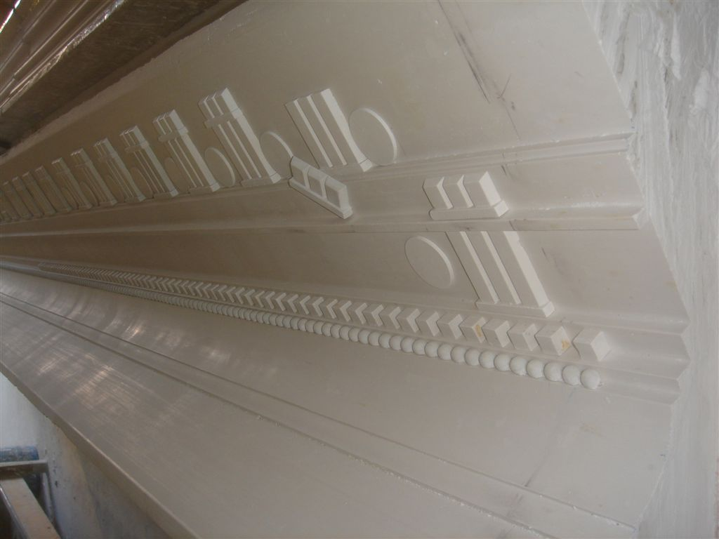 custom plaster crown moulding