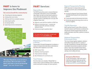 Strategic Communications Project: Piedmont Authority for Regional Transportation