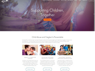 Nonprofit Website: Exchange Family Center