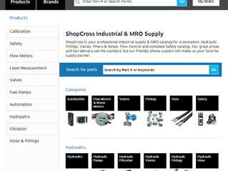 e-Commerce site: Cross