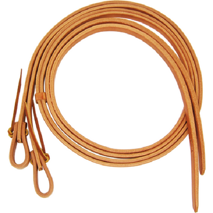 Harness Leather Split Reins With Waterloops by Schutz Brothers