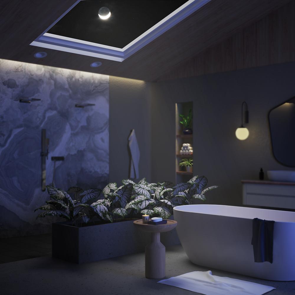 Diseño de baño, tina, ducha para Noken Porcelanosa