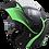 Thumbnail: Casco Ich Abatible 3110 Certificado  verde  visor oscuro GRATIS