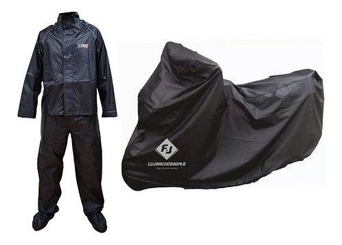 Impermeable Moto + Carpa /pijama Moto Original