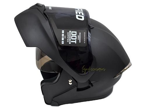 Casco Abatible Ich 3120 Certificado DOT + visor adicional oscuro