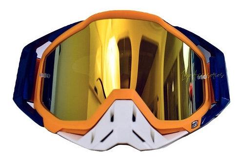 Gafa Para Motociclista/bicicross 100% Original