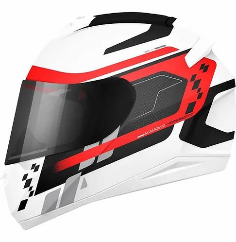 Casco Moto kontrol  Integral Certificado Placas Gratis