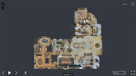 Matterport Floorplan View