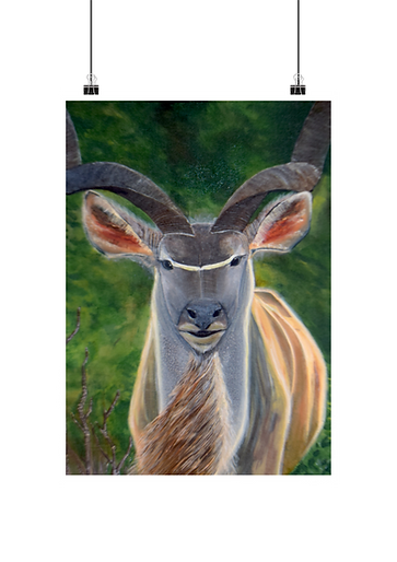 Painting of a kudu