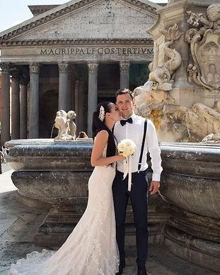 Фото 1 свадьба для двоих в Риме. Пантеон
