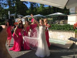 Фото 4 свадьба в Италии на вилле | Кристина и Кристиан | ведущая на итальянском языке - Катрин Моро
