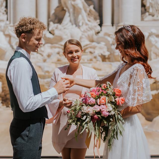 Фото 1 символическая свадьба в Италии. Сайт Katrin Moro Weddings