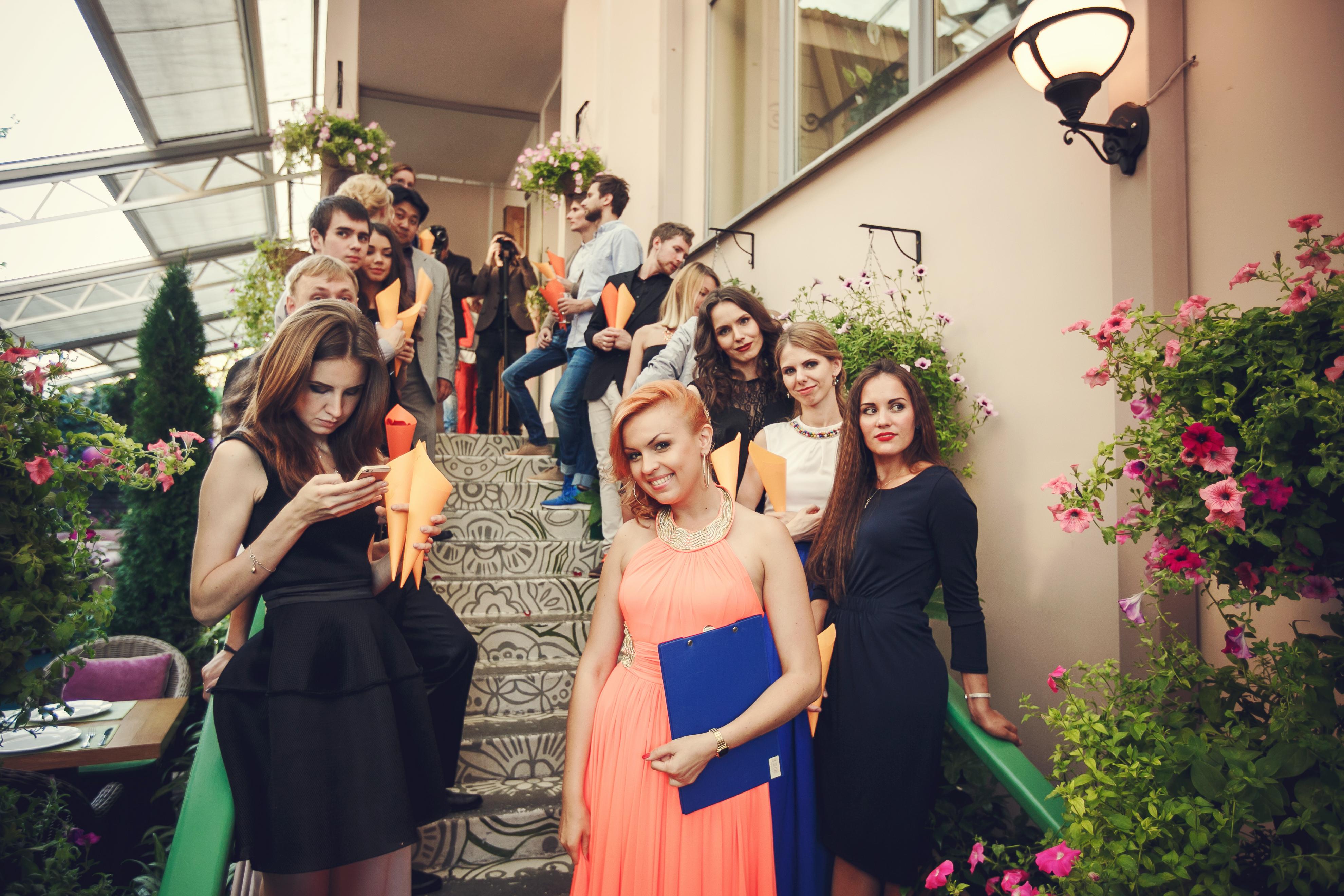 Фото 1 свадьба в Москве в оранжевом цвете | ведущая свадьбы - Катрин Моро