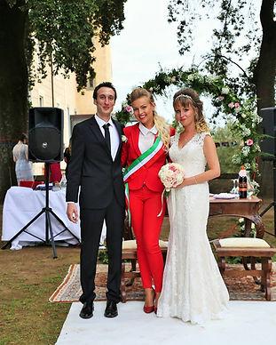 Фото 1. Официальная церемония в Италии