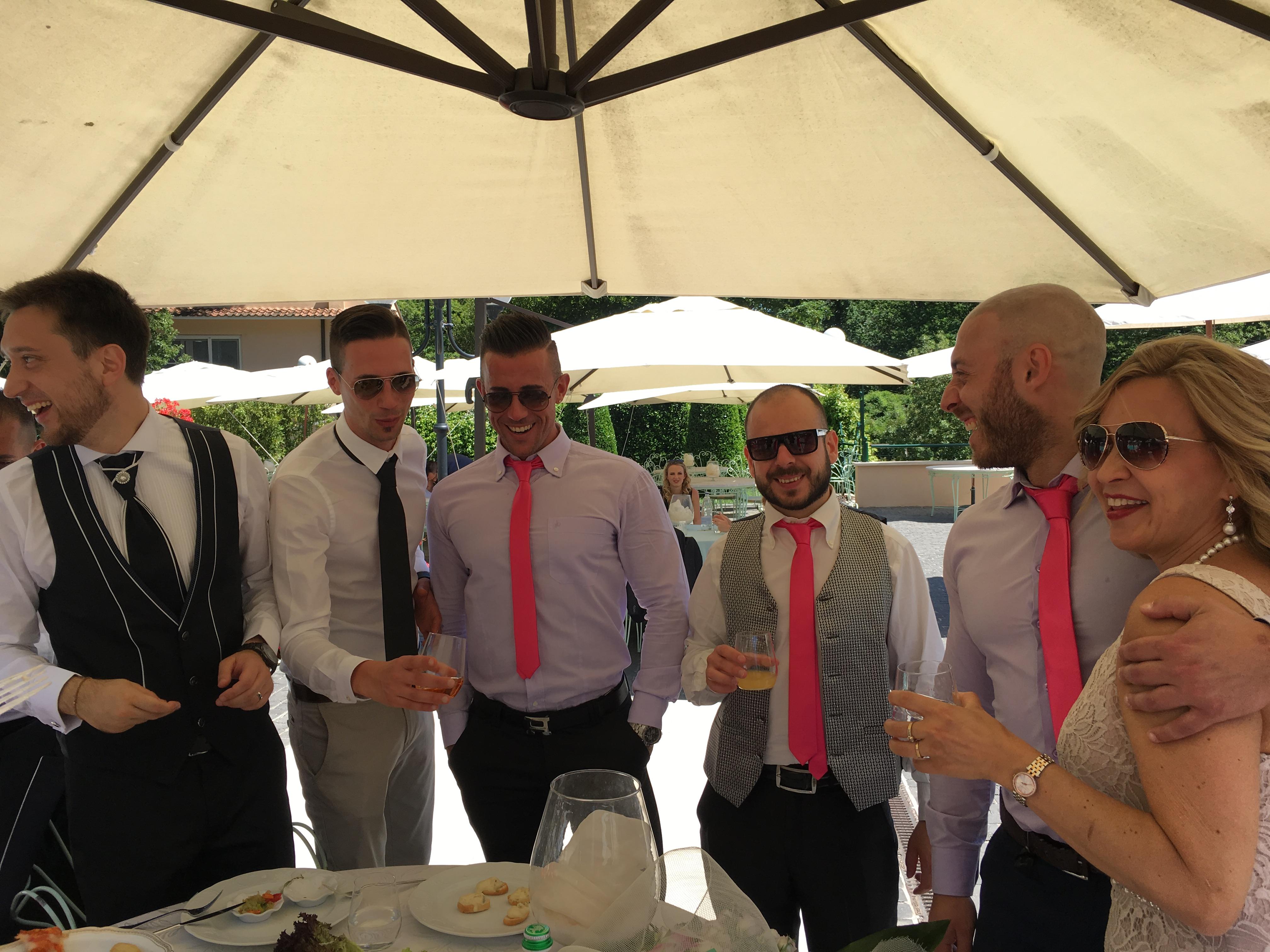 Фото 10 свадьба в Италии на вилле | Кристина и Кристиан | ведущая на итальянском языке - Катрин Моро