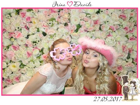 Майская интернациональная свадьба Ирины & Давиде в Москве, ресторан Буржуа