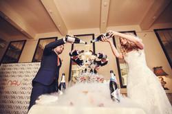 Фото 3 свадьба в Москве в оранжевом цвете | ведущая свадьбы - Катрин Моро