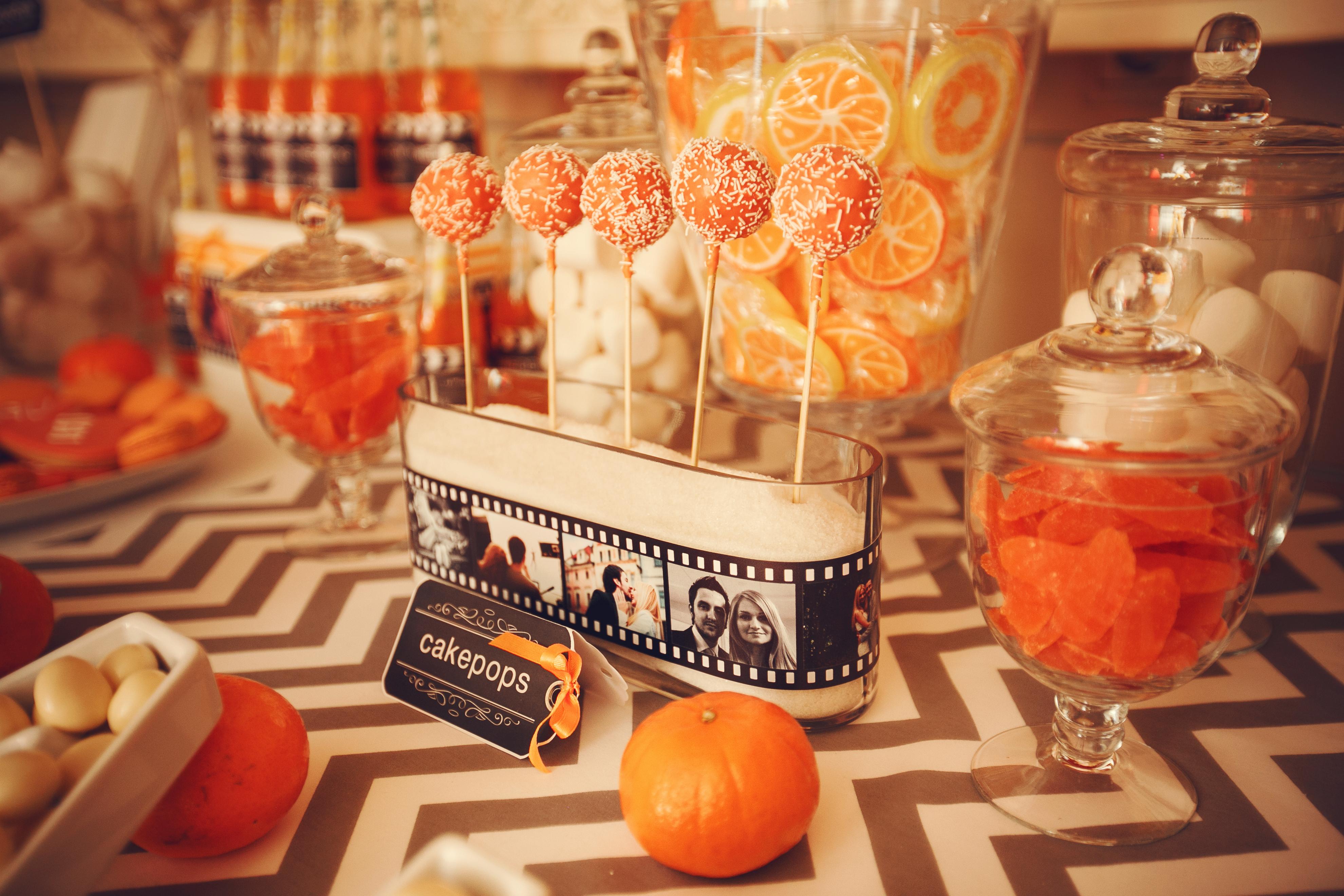 Фото 2 свадьба в Москве в оранжевом цвете | ведущая свадьбы - Катрин Моро