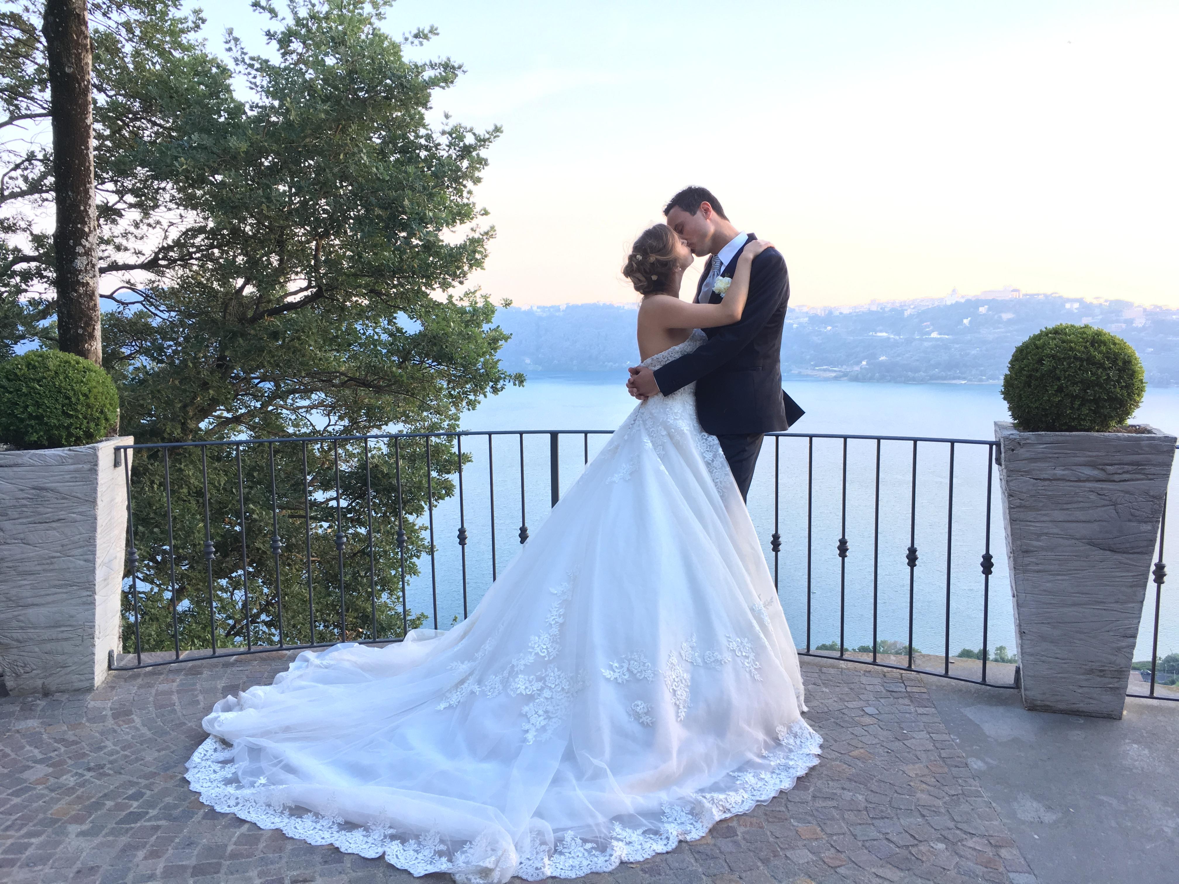 Фото 11 свадьба на озере в Италии | Александра и Даниэле
