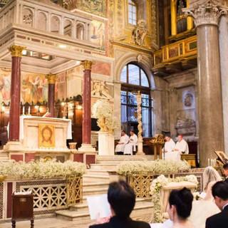 Фото 4 католическое венчание в италии. С