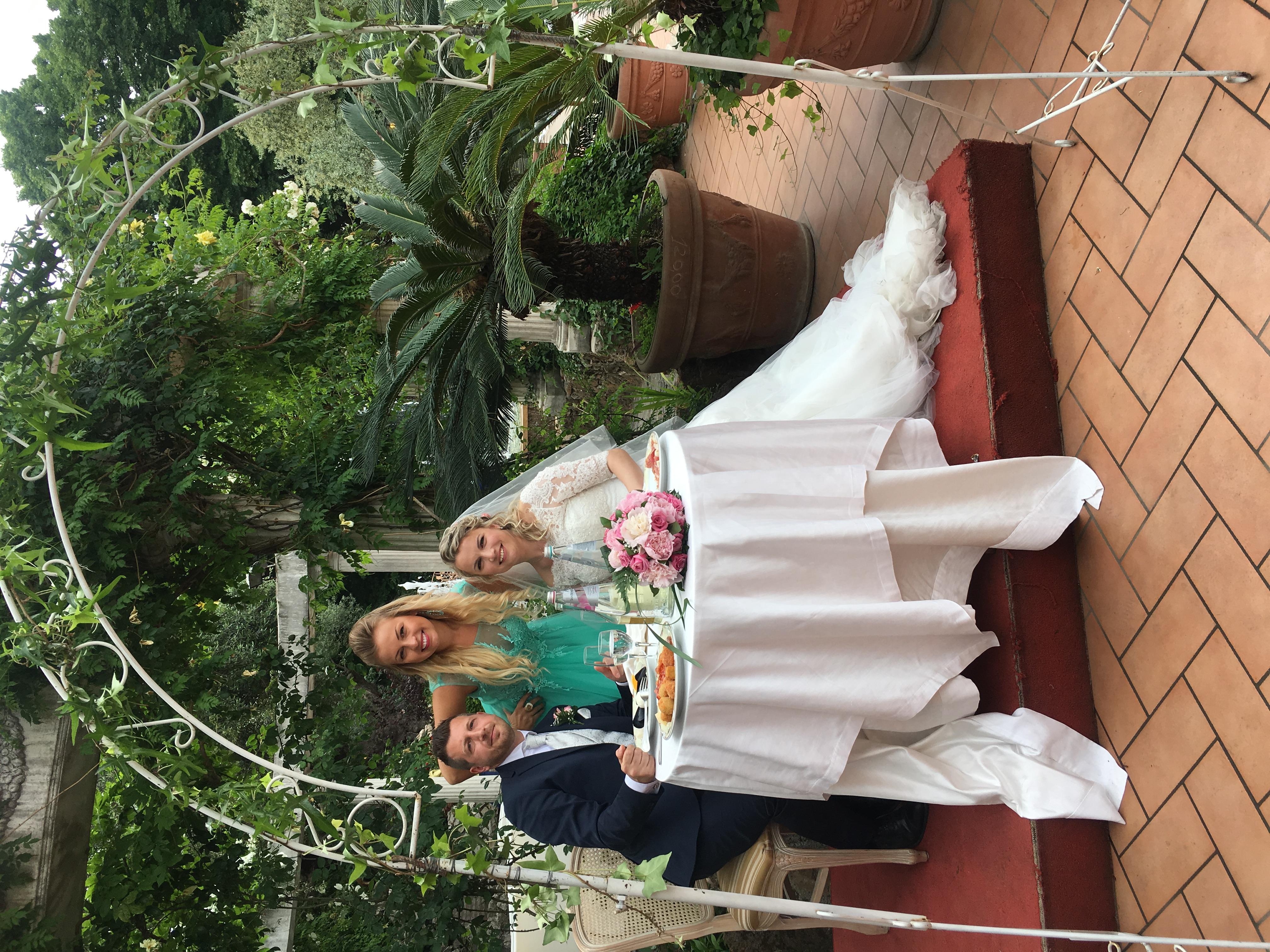 Фото 6 свадьба в Риме | Лидия и Оттавио | ведущая в Италии - Катрин Моро