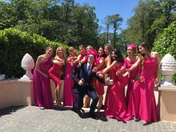 Фото 1 свадьба в Италии на вилле | Кристина и Кристиан | ведущая на итальянском языке - Катрин Моро