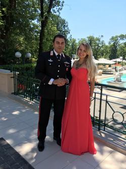 Фото 3 свадьба в Италии на вилле | Кристина и Кристиан | ведущая на итальянском языке - Катрин Моро