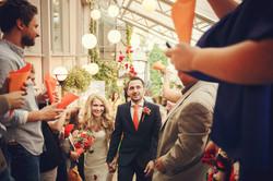 Фото 6 свадьба в Москве в оранжевом цвете | ведущая свадьбы - Катрин Моро