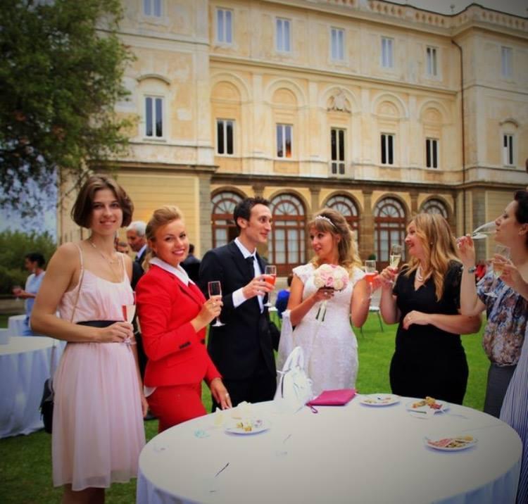 Фото 7 свадьба на вилле в Италии | Элеонора и Фабио | ведущая свадьбы в Италии - Катрин Моро