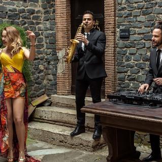 Кавер группа в Италии. Music Band in Ita
