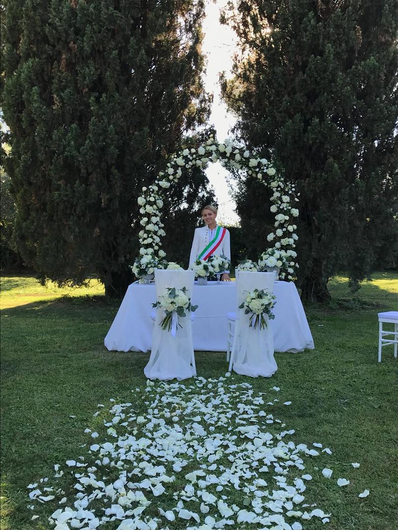 Фото 2 ведущая свадеб в Италии - Катрин Моро