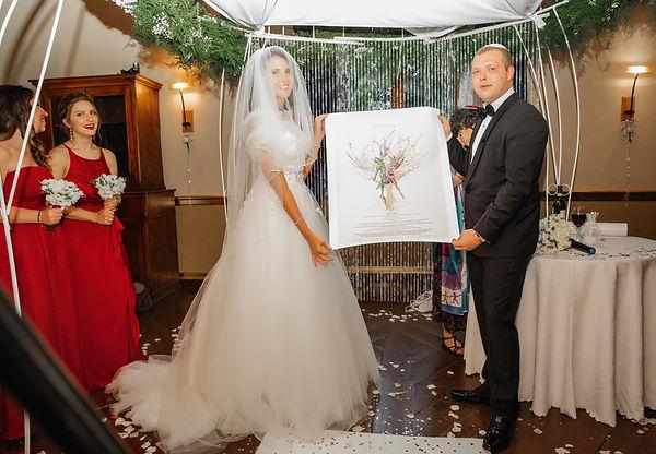 Фото 101 Еврейская свадьба в Италии. Д и