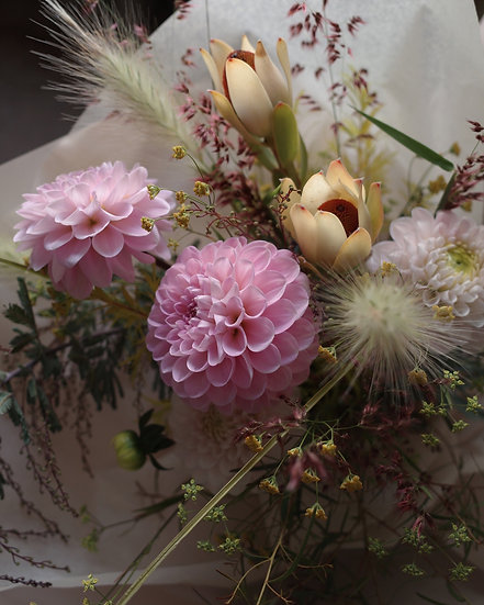 Seasonal bouquet & flower bag WRAP