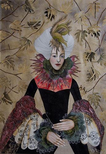 Lady Bantam | Original Painting