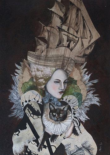 Ghost Ship | Original Painting