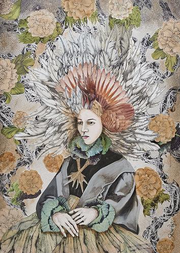 Frau Eule | Original Painting