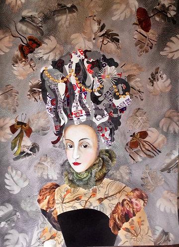 Lady Tesco | Original Painting