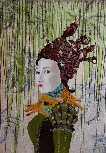 Dandy Lioness | Original Painting
