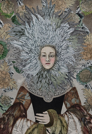 The Weight of a Thousand Feathers - Open Edition Print 100cmx69cm
