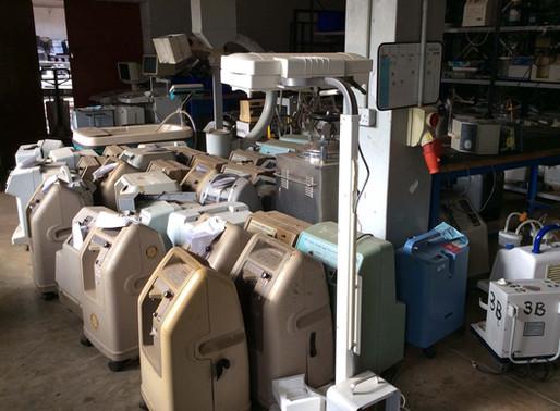 "The Telegraph reports ""Burying Africa's 'equipment graveyards'"""