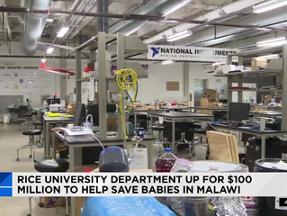 Rice University competing for $100 million in grant money to help save babies in Malawi