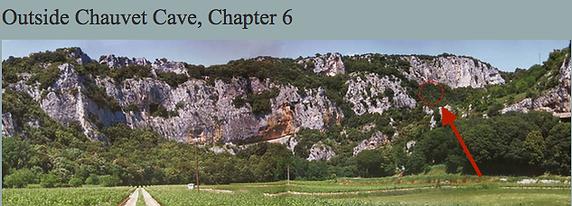 Outside Chauvet Cave
