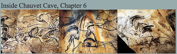 Inside Chauvet Cave