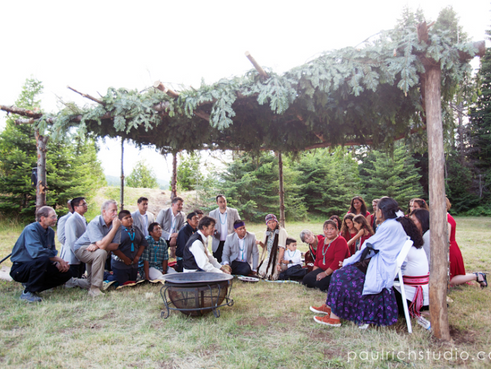 'Ahé'éské, Diné Marriage Ceremony