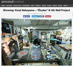 ARRESTED MOTION: KENJI NAKAYAMA