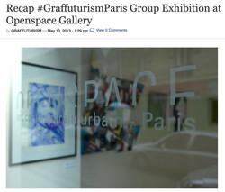 GRAFFUTURISM: GRAFFUTURISM PARIS