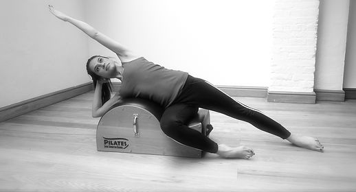 Side bend over the Spine Corrector